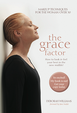 """The Grace Factor – Makeup techniques for women over 50"""